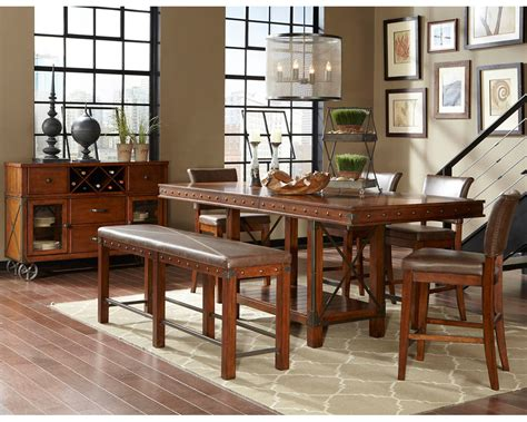 najarian furniture counter height dining set manchester na