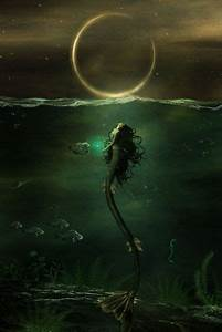 The Dark Siren :¦: By Artist Carlos Quevedo ☆ Mermaid Myth ...