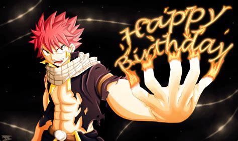Anime Happy Birthday Wallpaper - happy birthday natsu style gift for passion00 by tobeyd