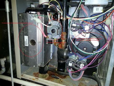 gas furnace won t light lennox g61mp 48c 090 02 furnace won t light flashing