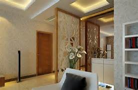 Interior Partition Ideas Simple Style Living Room Partition Decoration Interior Design