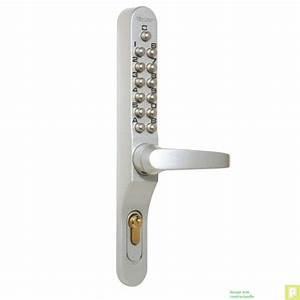 Serrure A Code Porte Exterieure : serrure garniture code m canique profil troit 40mm ~ Dailycaller-alerts.com Idées de Décoration