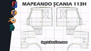 Zmodeler 3    Mapeando Scania 113h Para Aceitar Skins
