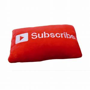 Subscribe Ultra Soft Rectangle Car/Home/Bed/Sofa Decor Throwing Pillow Cute Gift | eBay  Subscribe