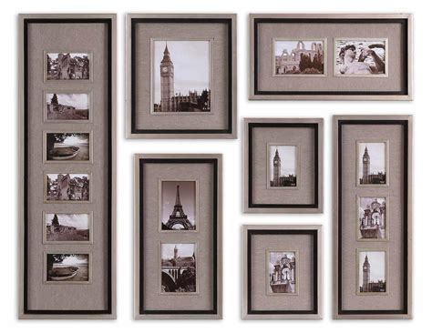 bed bath and beyond metal wall decor uttermost uttermost massena photo frame collage s 7 by oj