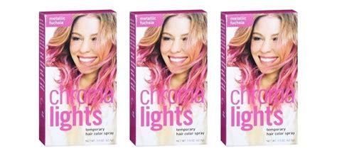 Chromalights Metallic Teal Temporary Hair