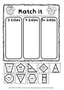 shape worksheets geometry worksheets kindergarten grade one free