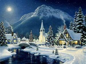 Beautiful, Christmas, Scene, -, Christmas, Wallpaper, 40690049