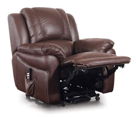 jasper dual motor italian leather electric riser recliner