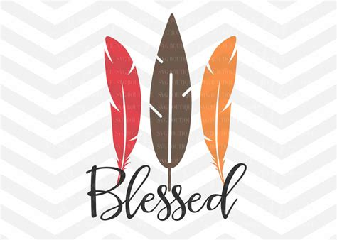 Free transparent thanksgiving vectors and icons in svg format. Blessed SVG File Autumn Cut File Thanksgiving SVG File SVG