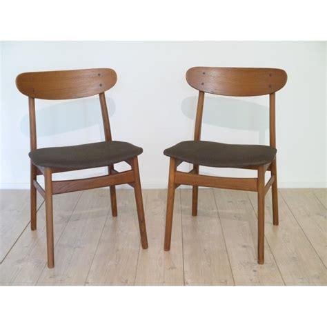 chaise danoise chaise danoise meuble scandinave la maison retro
