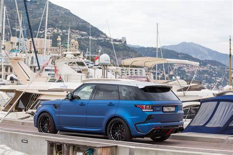 400 Hp Larte Design Range Rover Sport Automotive Car News