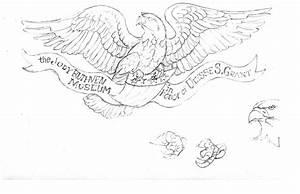 Carving an Eagle Designed by Artist John Ruthven - John