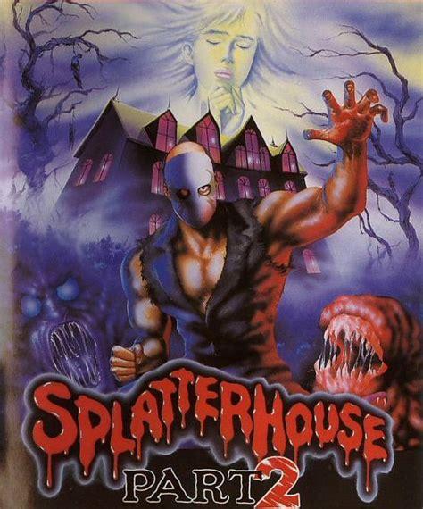 West Mansion The Splatterhouse Homepage Artwork