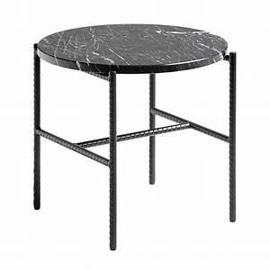 Table Basse Ronde Marbre : table basse rebar ronde marbre noir hay ~ Teatrodelosmanantiales.com Idées de Décoration