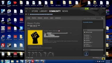 How To Find Your Steam Id Youtube