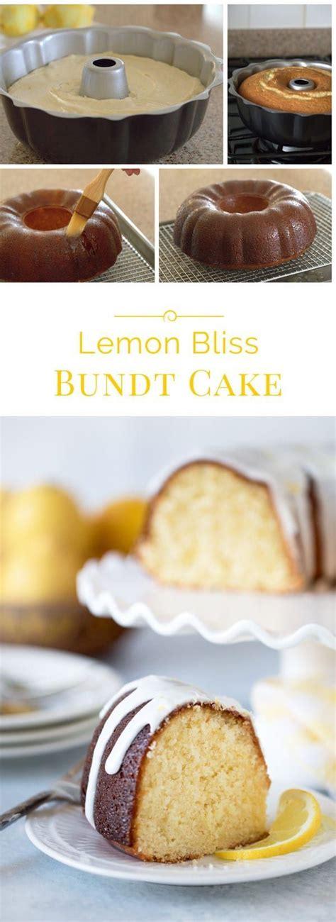 lemon bliss bundt cake recipe barbara bakes recipes