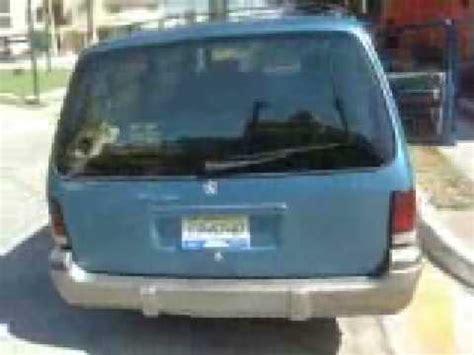 Chrysler Grand Voyager 1993 www.soloautos.com.mx + de ...