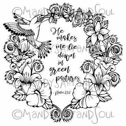 Psalm Coloring Pages Largest Printable Getcolorings Getdrawings