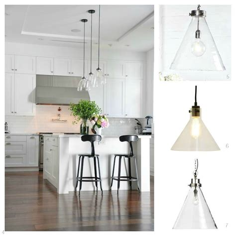 clear glass pendant lights for kitchen glass pendant lights for the kitchen diy decorator 9423