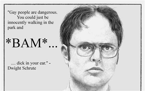 Dwight Schrute Resume Quote by Dwight Schrute Quotes Fact Bears Quotesgram