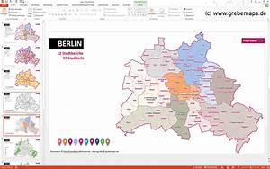 Berlin Plz Karte : karte berlin powerpoint grebemaps kartographie ~ One.caynefoto.club Haus und Dekorationen