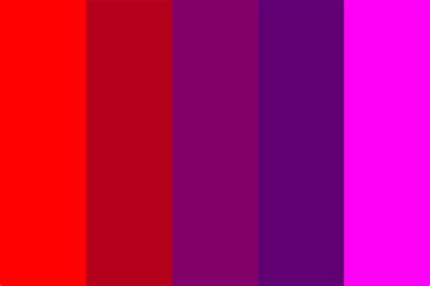 Raspberry Blood Color Palette