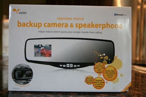 product review yada rearview mirror  integrated