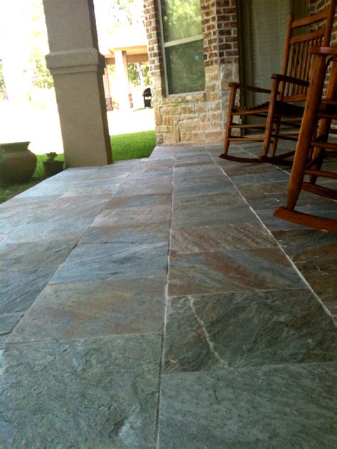 slate for backyard inspiring slate for patio 7 slate patio designs newsonair org