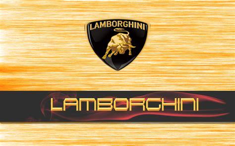 Lamborghini Logo Fond Ecran Hd