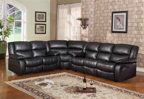 Sectional Sleeper Sofa Recliner by Brand Black Leather Motion Reclining Sectional Sofa