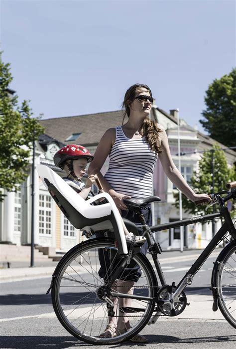 hamax childrens bicycle seat caress grey white black