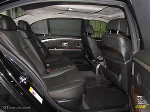 Black/Black Interior 2006 BMW 7 Series 760Li Sedan Photo