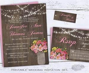 rustic mason jar wedding invitation 2316879 weddbook With rustic mason jar wedding invitations with lights