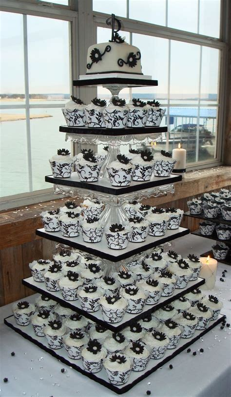 mouthwatering cupcake wedding cakes   rock