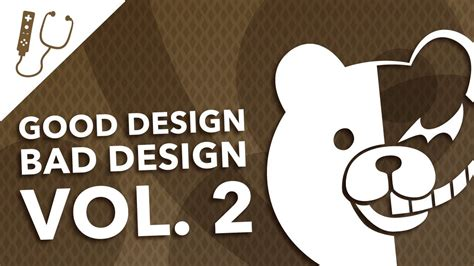 good design bad design vol  great terrible video
