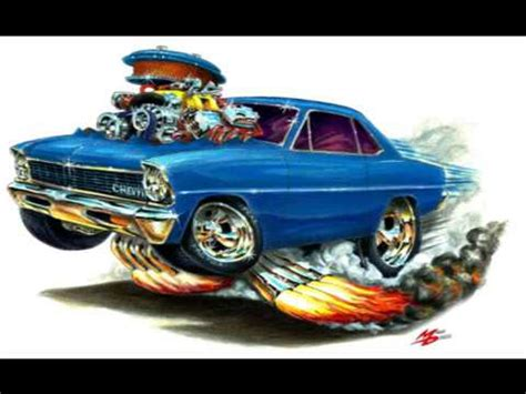maddmax cartoon muscle car art   youtube