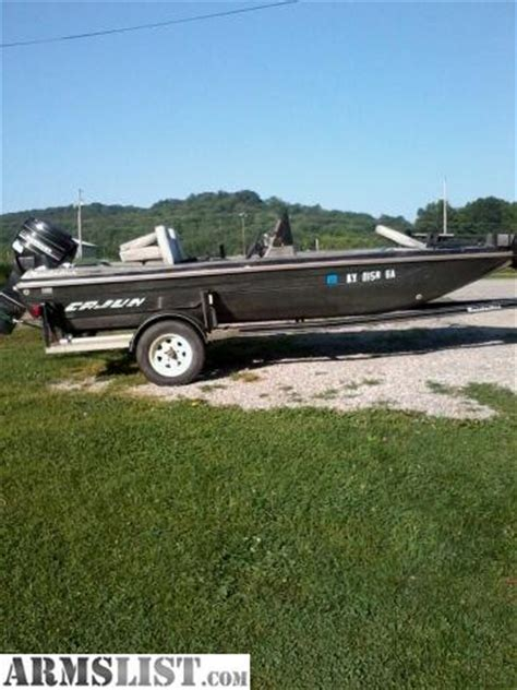 Cajun Bass Boat Accessories by Armslist For Sale Trade 87 Cajun Bass Boat