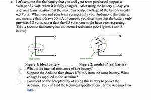 Fully Charged Battery Voltage