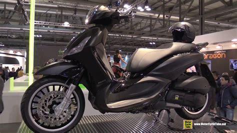 piaggio beverly 300 2016 piaggio beverly 300 scooter walkaround 2015 eicma milan
