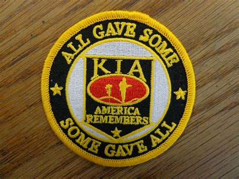All Gave Some Kia Patch Military Service Vest Patch