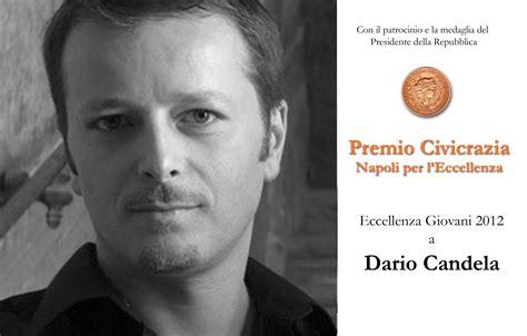 Dario Candela by Dario Candela 171 Premio Napoli Per L Eccellenza Civicrazia