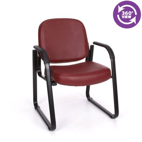 richmond reception arm chair in vinyl fmo 403v reception