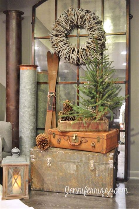 rustic christmas decor 40 fabulous rustic country christmas decorating ideas