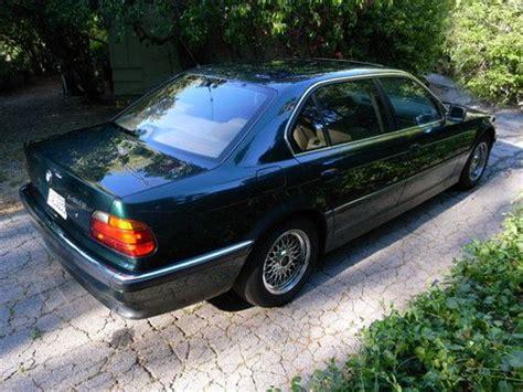 dark green bmw buy used 1997 bmw 740il dark green one owner good