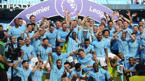 man city pep guardiola receive premier league champion