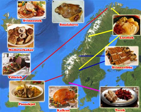aujourd hui je cuisine repas de noel traditionnel norvege