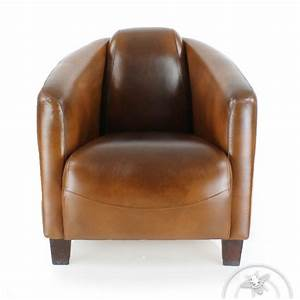 Fauteuil Cuir Design : fauteuil club cuir vintage op ra saulaie ~ Melissatoandfro.com Idées de Décoration