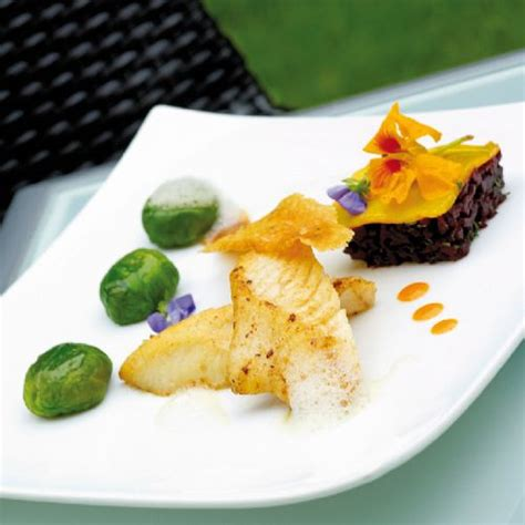 recette cuisine gastronomique plat poisson gastronomique