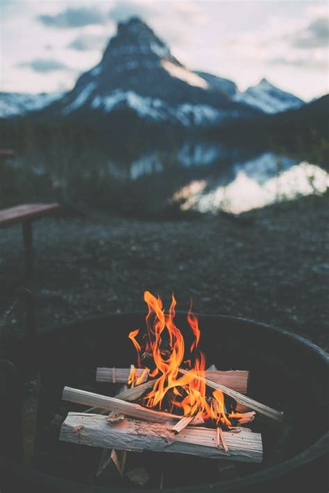ideas  bonfires  pinterest camp fire